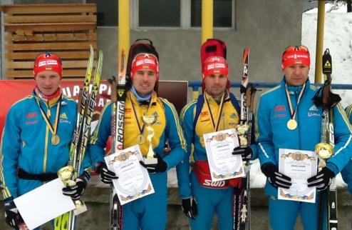 Биатлон. Результаты эстафетных гонок чемпионата Украины