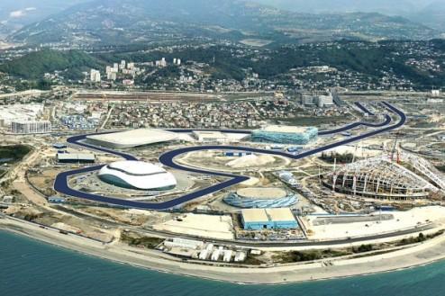 Формула-1. Автодром в Сочи: строительство идет полным ходом