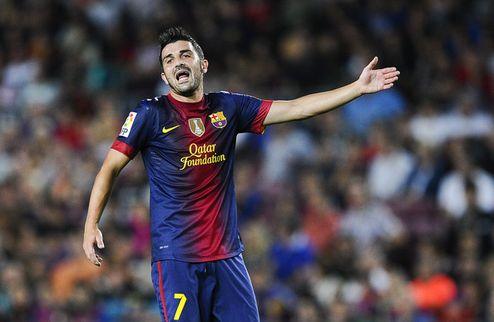 Барселона убедила Вилью не уходить в Челси