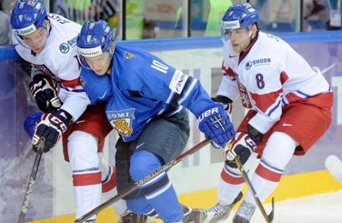 МЧМ. Финляндия проиграла Чехии