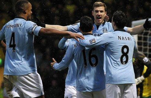 Ман Юнайтед побеждает на классе, Ман Сити — на нервах