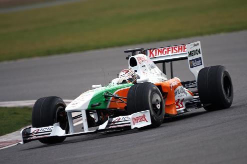 Формула-1. Форс Индия сменит поставщика двигателей