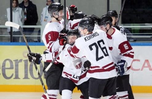 МЧМ. Латвия сражается, но уступает Словакии