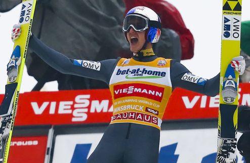 Турне четырех трамплинов. Шлиренцауэр побеждает в Инсбруке