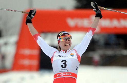 Ковальчик в четвертый раз подряд выигрывает Тур де Ски