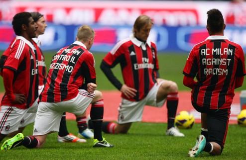 Про Патрию наказали за расизм против игроков Милана
