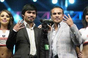 Маркес и Паккьяо могут выступить в апреле в рамках одного шоу