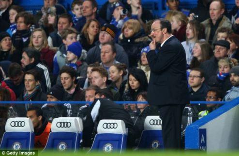 Фаны Челси не будут смотреть матчи, пока не уйдет Бенитес