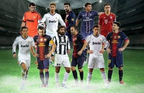 Сборная года от УЕФА