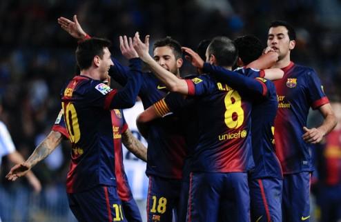 Барселона: тики-така есть, результата нет