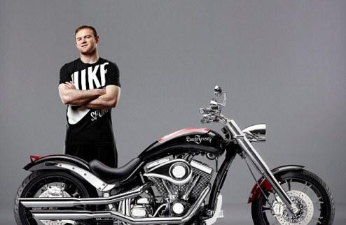 Разработан мотоцикл с дизайном, посвященным Уэйну Руни