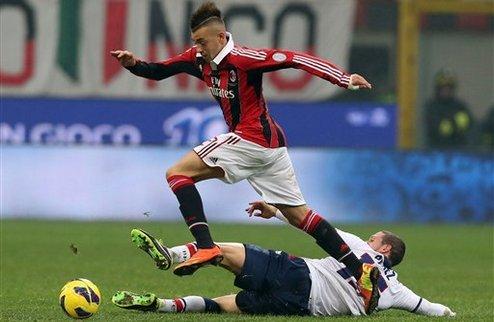 Дубль Паццини приносит Милану шестое место