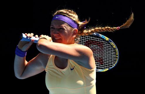 Australian Open. Азаренко с трудом сломила Кузнецову