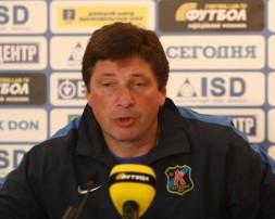 Бакалов разочарован некоторыми игроками Арсенала