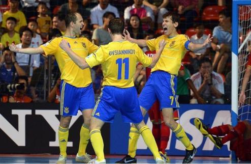 Футзал. Англия — последний соперник Украины в отборе на Евро