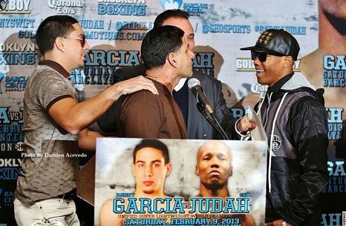 Гарсия передумал драться с Джудой?