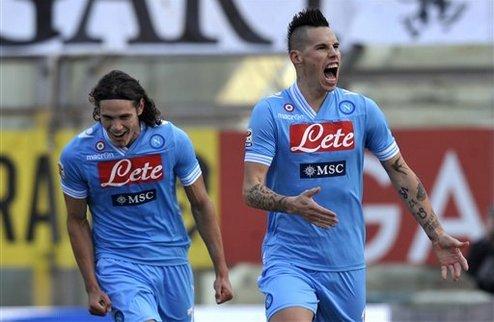 Победы Наполи и Милана, поражение Фиорентины
