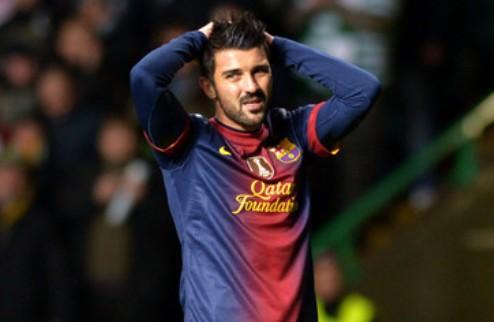 Арсенал и Барселона договариваются по трансферу Вильи