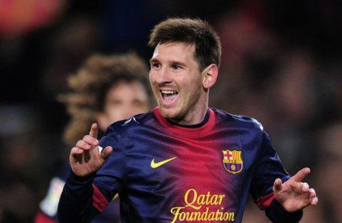 Месси продлит контракт с Барселоной