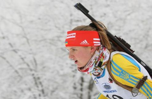 Биатлон. Украина заняла второе место в эстафете на ЮЧМ