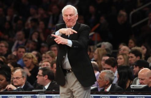 НБА. Грег Попович — тренер Запада