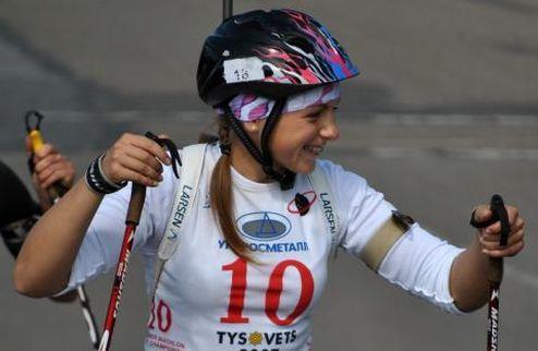 Биатлон. ЮЧМ. Украинские юниорки завоевали серебро в эстафете