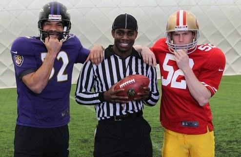 Лескотт и Милнер сыграли в американский футбол + ВИДЕО
