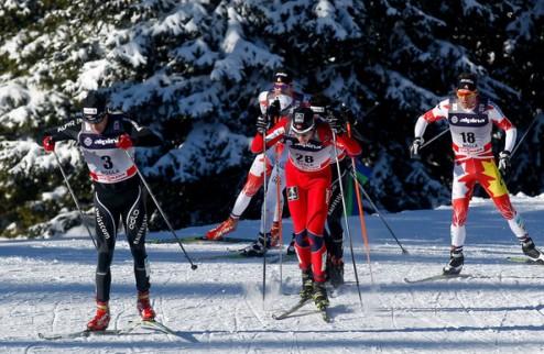 Лыжные гонки. Колонья обыгрывает россиян