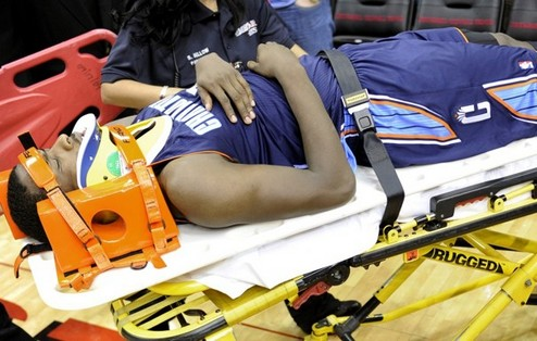 НБА. Кидд-Гилкрист получил травму головы