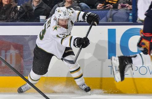 НХЛ. Даллас: Уитни пропустит полтора месяца