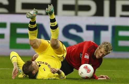 Дортмунд стал вторым, Гладбах не стал пятым