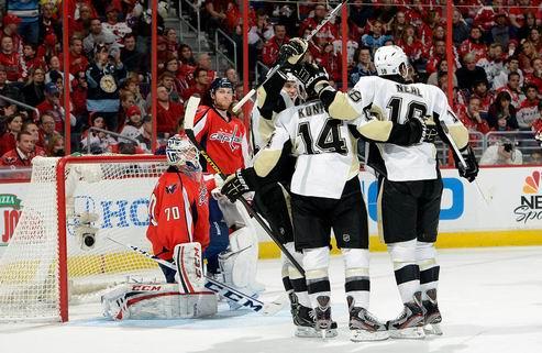 НХЛ. Питтсбург справился с Вашингтоном