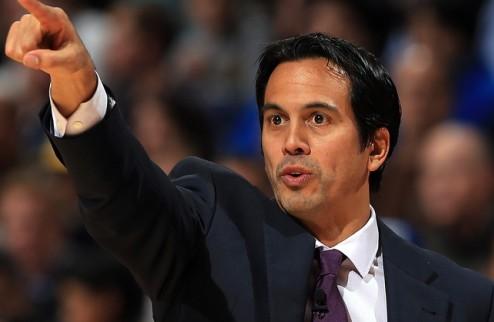 НБА. Споэльстра — тренер Востока на Матче всех звезд