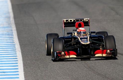 Формула-1. Второй день тестов — за Грожаном