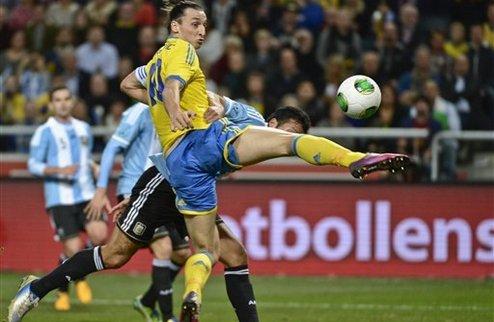 Аргентина победила шведов