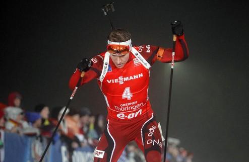 Биатлон. Норвегия открыла чемпионат мира победой