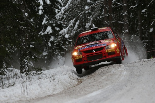 WRC. Mentos Ascania Racing: Rally Sweden — старт дан