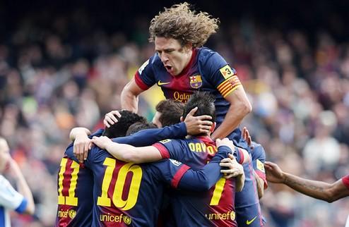 Барселона пообедала Хетафе