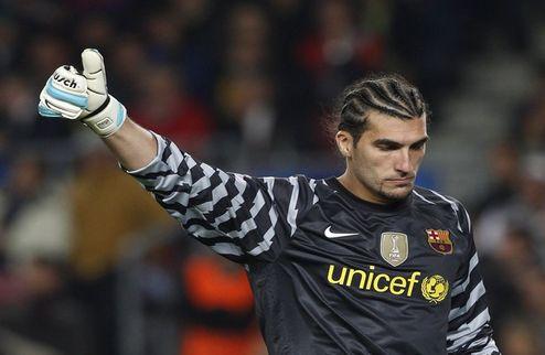 Пинто продлил контракт с Барселоной