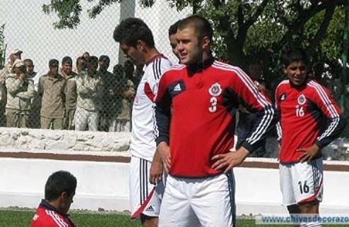 Мексиканский Чивас провел тренировку в тюрьме