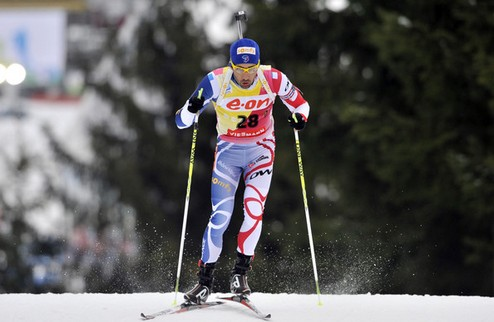 Биатлон. ЧМ. Мартен Фуркад берет золото в индивидуальной гонке