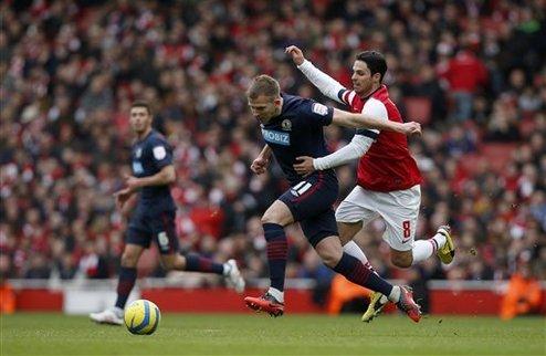 Блэкберн выбивает Арсенал из Кубка Англии