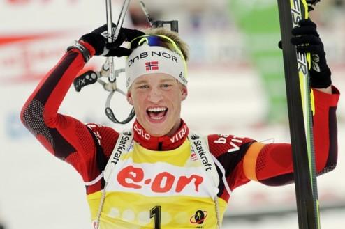 Биатлон. ЧМ. Боэ приносит Норвегии еще одну победу