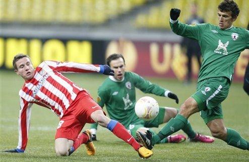 Рубин выбивает Атлетико из Лиги Европы