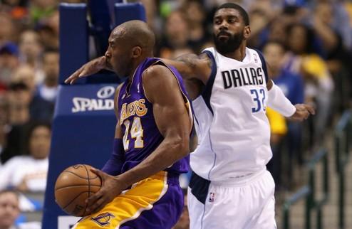 НБА. Даллас не смог остановить Брайанта