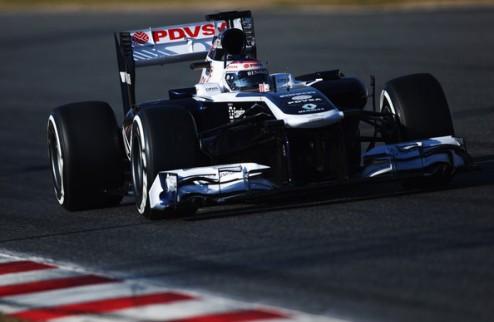 Формула-1. ФИА вынудила Уильямс переделать выхлопную систему