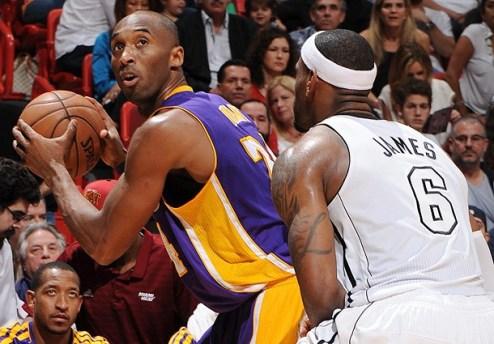 НБА. ЛеБрон и Брайант — игроки недели