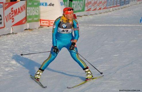 Биатлон. ЧЕ. Украинки заняли третье место в женской эстафете