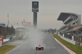 Формула-1. Завтра в Барселоне пилотов ждет дождь