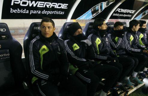 Роналду начнет Класико на скамейке